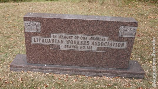 Lithuanian workers memorial