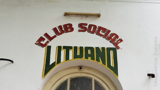The symbol of Rosario Lithuanian club