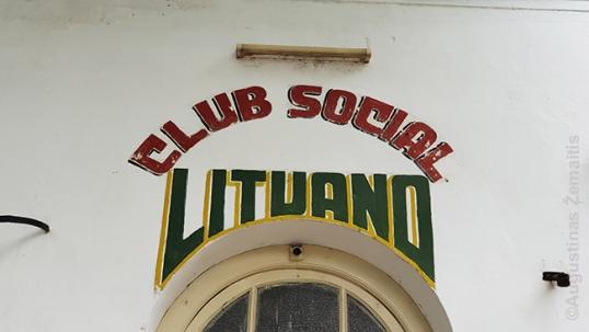 Rosarijo lietuvių klubo ženklas