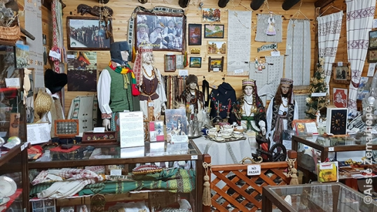 Lithuania hall of the Esquel Lithuanian museum