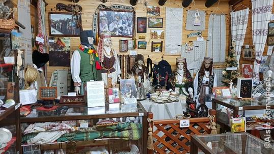 Eskelio lietuvių muziejaus Lietuvos salė