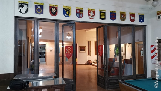 Grigonis's coats of arms in the Lithuanian Center