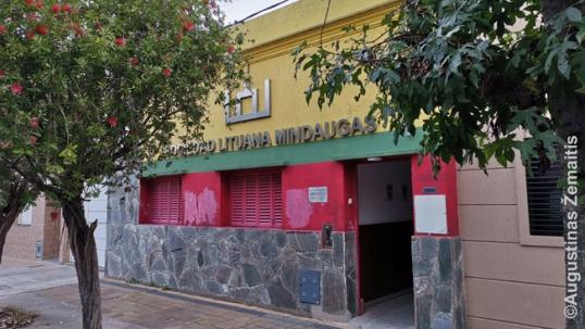 "Lithuanian club ""Mindaugas"" of Beriso"