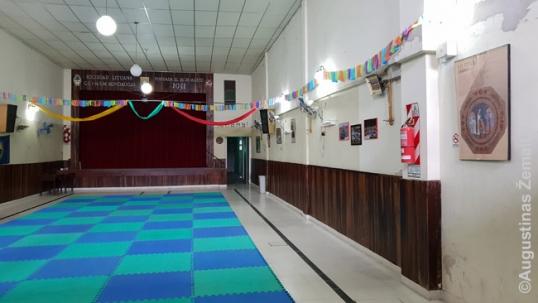 Klubo Mindaugas salė